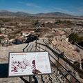 """Vistas a la sierra de La Sagra desde la ermita del Cerro de la Virgen, uno de los puntos de información de la """"ruta morisca"""" de Galera"""