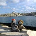 Mit Charly hatte ich in Malta viel Spaß.