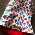 Kindermütze - Beanie Style - Blumenmuster