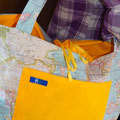 Strandtasche Weltkarte