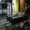 Unsere Gulaschkanone vor unserem Ladenlokal in Ratingen 2