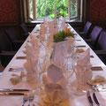 Hochzeit Oetzbach Deko Tisch 1