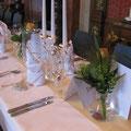 Hochzeits Catering im Schloß