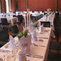 Hochzeit Deko Tisch 2