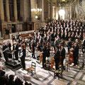パリ マドレーヌ寺院での演奏会