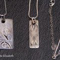 pendant created by Elisabeth Da Justa ( engraving and gold inlay by E. Da Justa)
