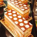 『マルジョレーヌ』 プラリネクリームの薫りたかいフランスの伝統ケーキ 濃い味わいながらくちどけ