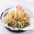 盛り込み料理 天ぷら盛り合わせ