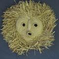 Seneca (Iroquois) Corn husk mask, 1950's