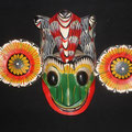 frog mask,1970's