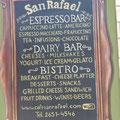 Carta de la calle - Cafe San Rafael