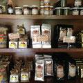 Cafe de la finca - empacado para exportar.