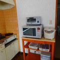 電子レンジ・オーブントースター・炊飯器