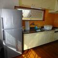 キッチンはシンプルです・ガスコンロ2口