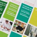 Berufsakademie Eisenach & Gera – Flyer, study guide