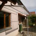 WANA mit Dach aus Polycarbonat Wellplatten 1mm
