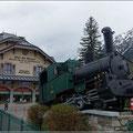Bahnhof in Chamonix