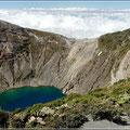Blick auf den Vulkan Irazu