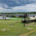 Camping an der Wolga