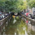 Grachten gibt es viele in Amsterdam