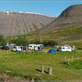 Unser schöner Campingplatz