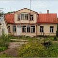 Viele schöne Häuser verfallen