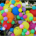 Luftballons zu verkaufen