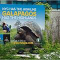 Nette Reklame für die High Line