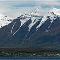 Landschaft auf dem Weg nach Akureyri