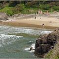 Kleiner Strand in Gower
