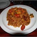 Leckere Spaghetti mit Gemüse