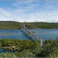 Eine von vielen langen Brücken