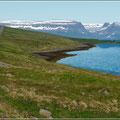 Landschaft der WestfjordeLandschaft der Westfjorde