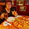 Wer soll die Pizza schaffen?
