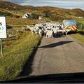 Stau in Schottland