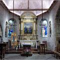 Es gibt noch eine kleine Kirche auf Mont-St-Michel