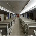 Gebetsraum im Kellergewölbe