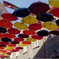 Eher Sonnen- als Regenschutz