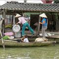 Versorgung per Boot
