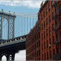 Blick auf die Manhattan Bridge