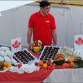 Canada Day an Bord