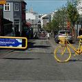 Fußgängerzone Reykjavik