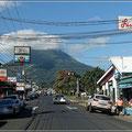 Immer im Blick: Vulkan Arenal