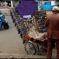 Umgebauter Rollstuhl