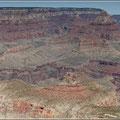Blick in den Grand Canyon von der Südseite