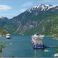 Geiranger Fjord, so wie man ihn kennt
