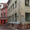 Nebenstraße in Riga