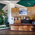 Sozialistischer Charme - Rezeption im Hotel in Bahir Dar