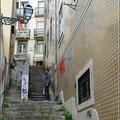 Trainingslager Lissabon - Treppe rauf, Treppe runter