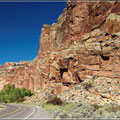 Highway durch tolle Landschaften